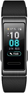 HUAWEI Band 3 Pro 0.95-Inch AMOLED Color Screen 120 * 240 BT 4.2 Built-In Independent Smart Bracelet Real-Time Heart Rate ...