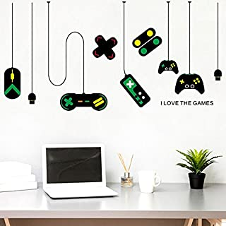 Game Controller Decorates Pendant Lamp Wall Stick Internet Cafe Study Computer Desk Background Stick A Picture Wall Sticke...