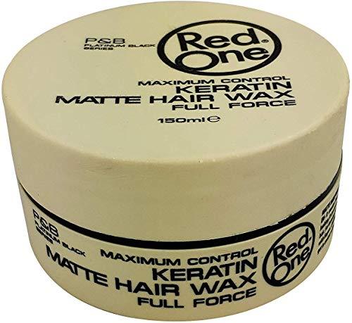 Red One Haarstylingwachs angereichert mit Keratin Matteffekt 150 ml