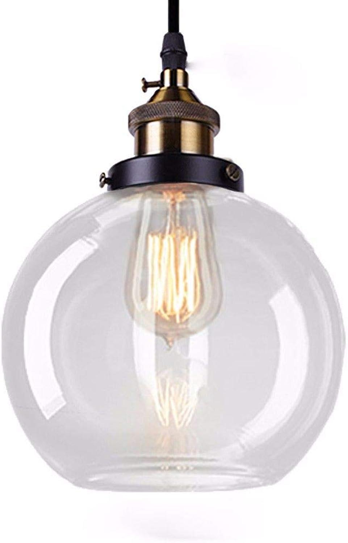 5151BuyWorld Lampe Pendelleuchten Vintage Glasleuchte Loft Suspension Retro E27 Lampe Colgantes Industrial Home Beleuchtungskrper Top Qualitt {Bernstein & Stil C}