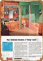 リッチモンド配管器具金属レトロ壁の装飾ティンサインバー、カフェ、家の装飾