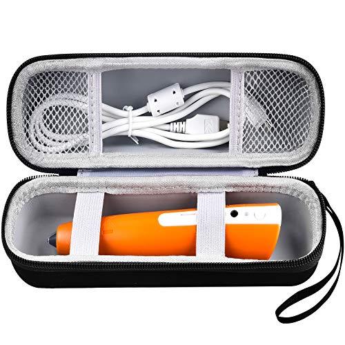 Tasche für Ravensburger Tiptoi 00801/ 00700/ 00806 Tiptoi Stift mit Handschlaufe, Aufbewahrung Schutzhülle für USB Cable (Only Box)