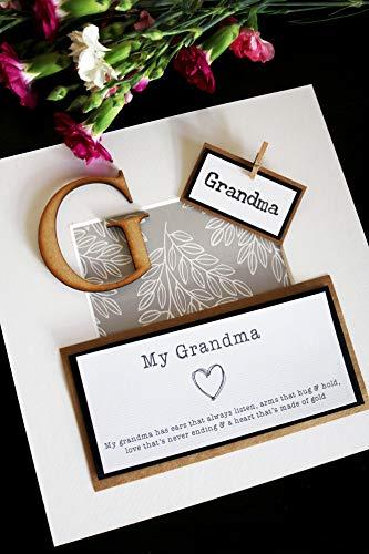Gift for Grandma - Frame Keepsake Present - Mothers...