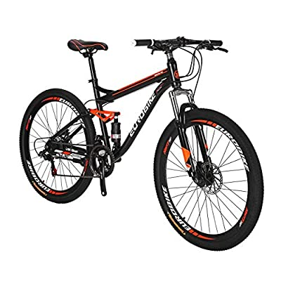 Mountain Bike S7 27.5inch Mountain Bike 21speeds Frame Shock Absorption Mountain Bicycle Disc Break Bike