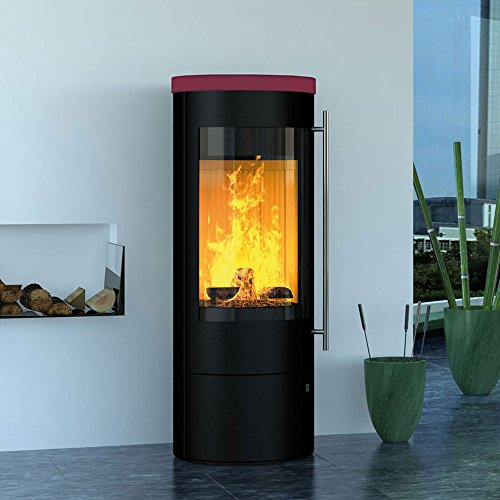 Olsberg Kaminofen Palena Compact, raumluftunabhängig (5 kW) Mocca Keramik Weichsel