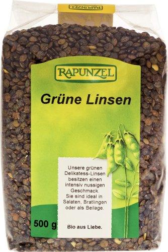 Rapunzel Linsen grün Bio, 500 g