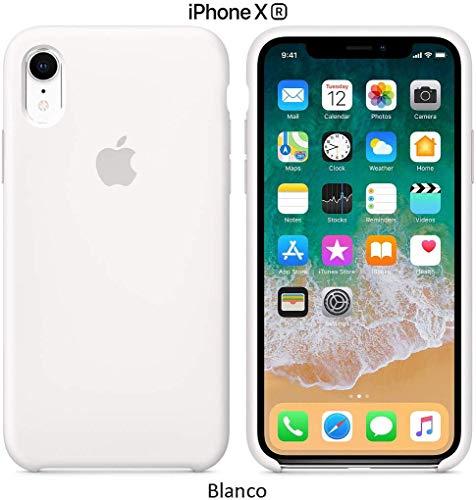 Funda Silicona para iPhone XR Silicone Case Calidad, Textura Suave, Forro Interno Microfibra (Verde marino)