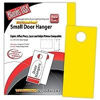 イエローSmall Door Hangers–150のパック