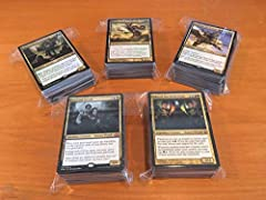 Commander draft packs! Each pack contains: 2 legendary, multi-colored creatures (rare or mythic), for use as a commander 1-2 other mythics and 15-20 rares 20-30 uncommons and 50-60 commons See description for details on running a commander draft!