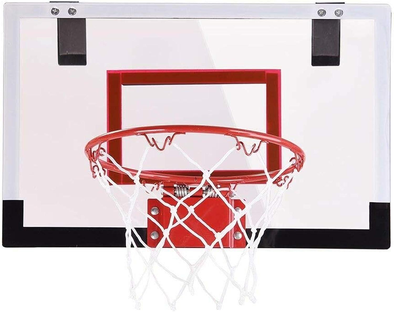 HOLLEuu Mini Basketball Hoop System Indoor Outdoor Home Office Wall Basketball Net Goal
