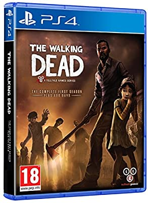 The Walking Dead The Complete First Season (PS4) from Telltale Games