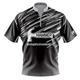Logo Infusion Dye-Sublimated Bowling Jersey (Sash Collar) - I AM Bowling Fun Design 2006-HM - Hammer (Men's 3X)