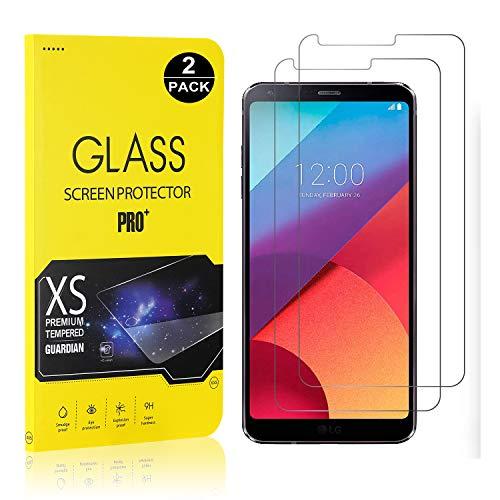 Bear Village® Displayschutzfolie für LG G6, 9H Hart Schutzfilm aus Gehärtetem Glas, Ultra klar Displayschutz Schutzfolie für LG G6, 2 Stück