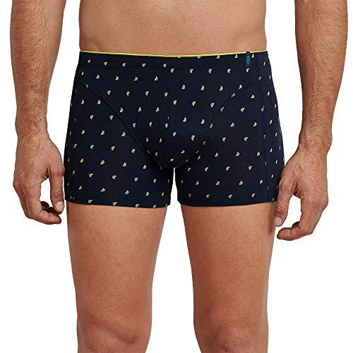 Schiesser Herren 95/5 Shorts Boxershorts, Gelb (Zitrone 601), Small