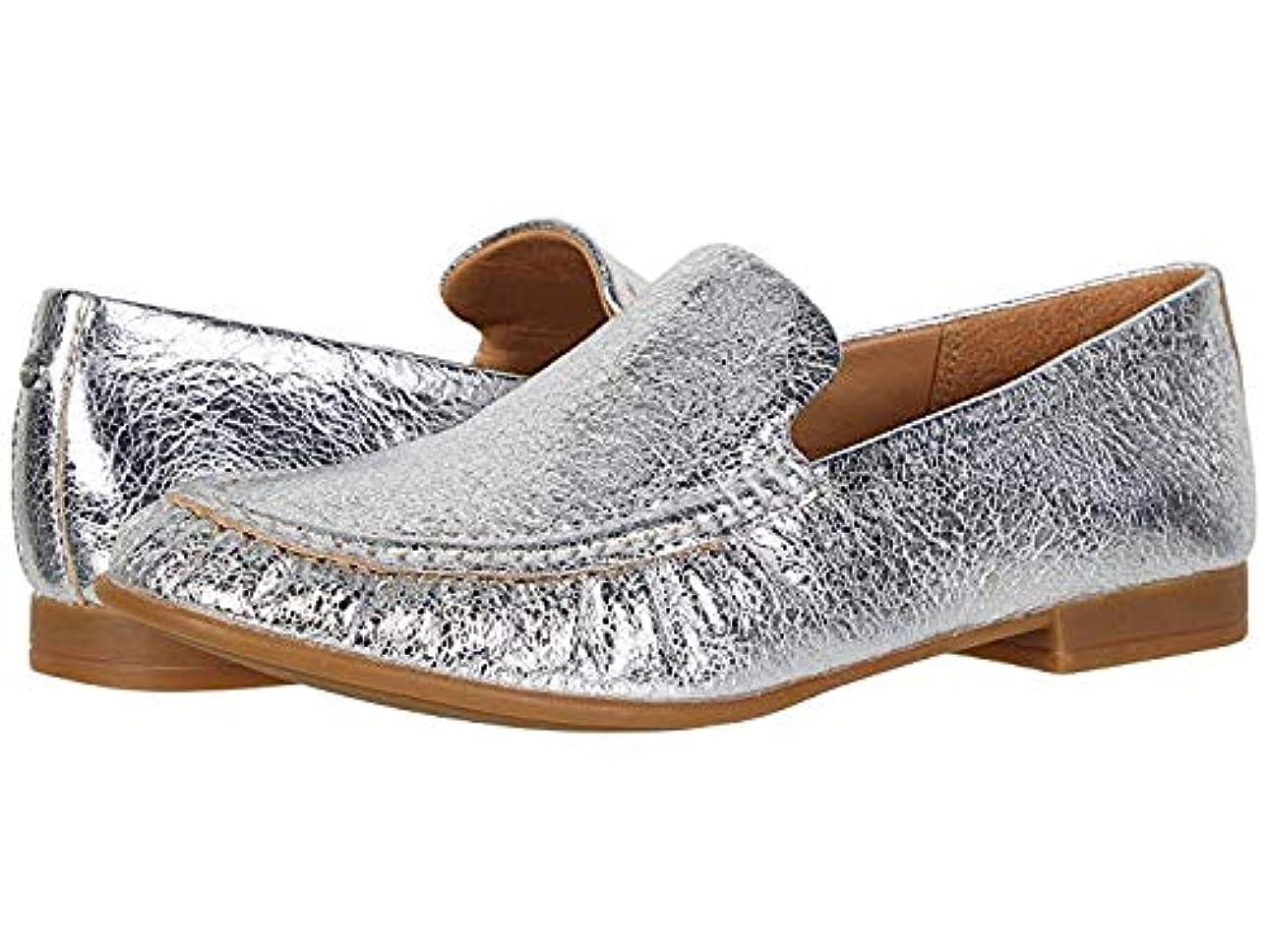 司法船乗り待つレディースローファー?靴 Vivian Silver (28.5cm) B - Medium [並行輸入品]
