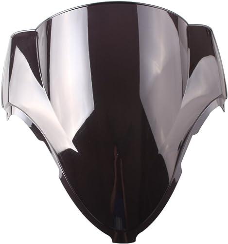 popular Mallofusa Smoke Black Motorcycle new arrival Windshield Windscreen for Suzuki Hayabusa outlet sale GSX1300R 1999 ¡§C 2007 Double Bubble online