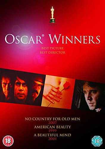 DVD3 - No Country For Old Men / A Beautiful Mind / American Beauty (3 DVD)