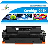 True Image Compatible Toner Cartridge Replacement for Canon 046 046H CRG-046H MF733Cdw Toner Canon Color ImageClass MF733Cdw MF731Cdw MF735Cdw LBP654Cdw Printer Ink (Black, 1-Pack)