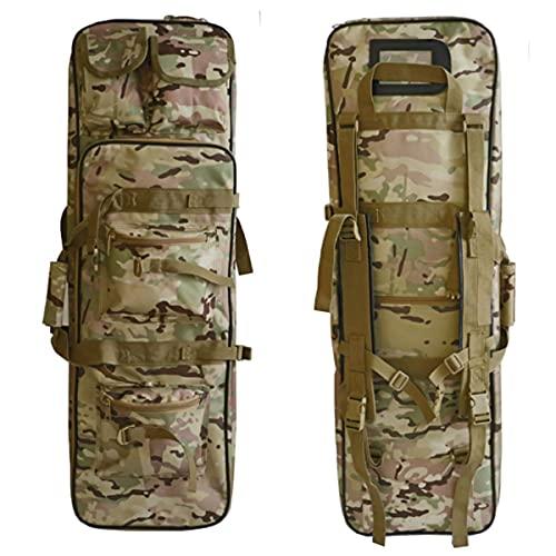 WZFANJIJ Estuche Doble Largo para Rifle, TáCtico, Doble Rifle Largo, Bolsa para Pistola, Estuches Blandos, Mochila para Arma De Fuego, Estuche para Pistola, para Caza,Camouflage-1.2m