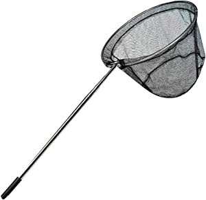 Fishing Net Butterfly Net Telescopic Insect Net Perfect for Kids Catching Bugs Small Fish, Handle Extends to 32 Inches