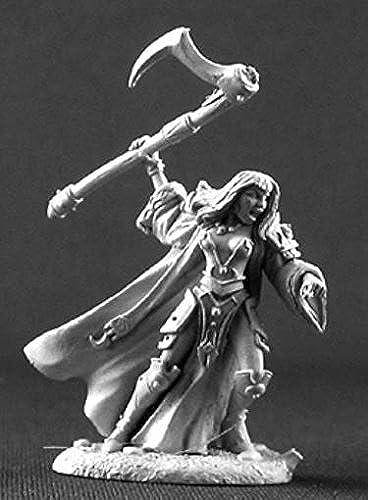 Elori Ebonscythe, Evil Female Cleric by Reaper