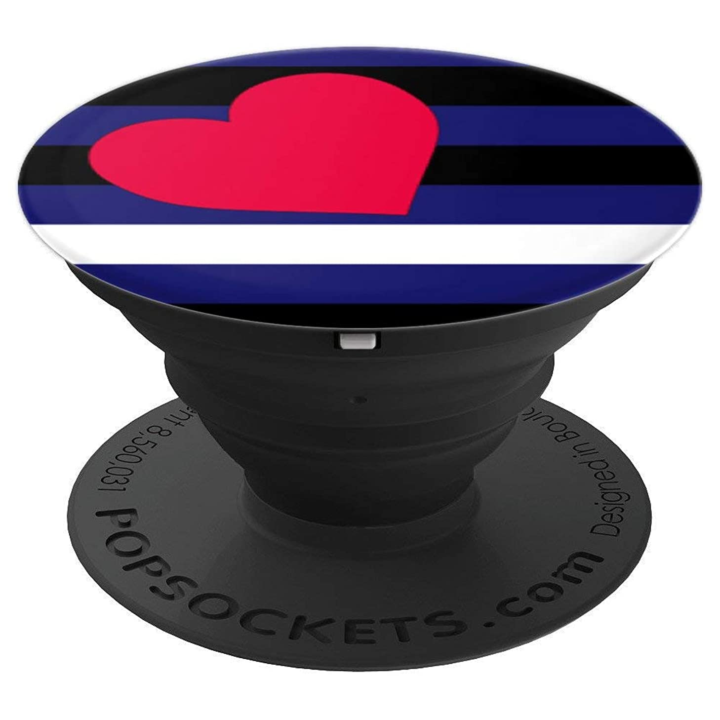 Leather Pride Flag - PopSockets Grip and Stand for Phones and Tablets