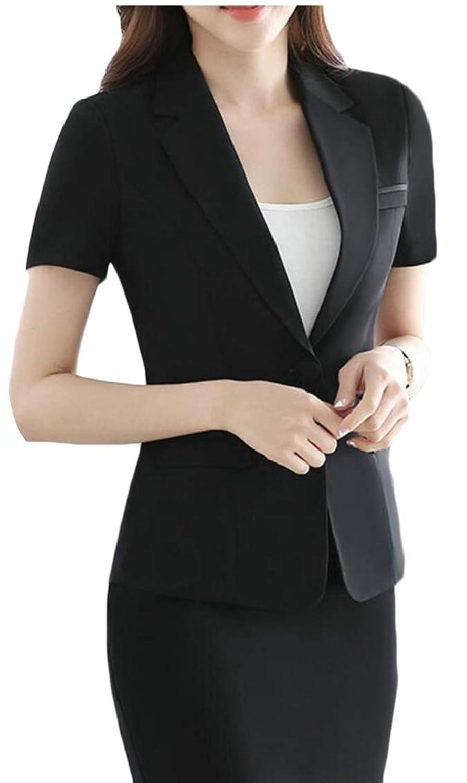 Fly Year-JP 女性ファッションフォーマルビジネスブレザーとスカートスーツセット