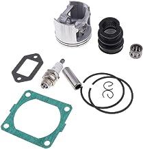 FLAMEER 56MM cilinderzuigbuis decompressieklep kit voor Stihl