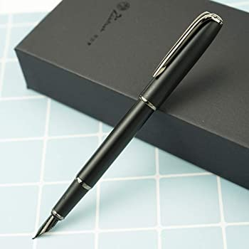 Classic Design with Con Black Forest Fountain Pen Bent Nib Calligraphy Fude Pen