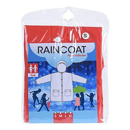 Kinder Regenjas S/M/L/XL Assorti 24 Stuks
