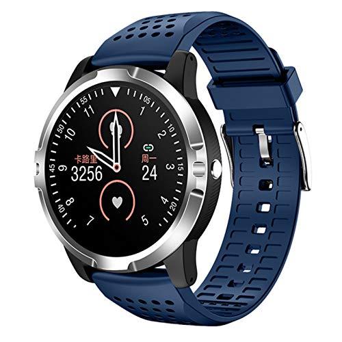 ZBY Mart WATE WATRESS PRESIONES DE STOR DE Sports Reloj Deporte Fitness Rastreador ECG Fitness Tracker Pulsera Pulsera IP67 Reloj Impermeable,a