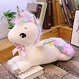 Naiyn Bambola del Regalo degli Amanti di Compleanno del Cuscino del Giocattolo della Peluche Pony Asino Ragdoll Che Dorme farcito Molle Animale Cavallo Bambola con Le Ali 30 centimetri-80cm