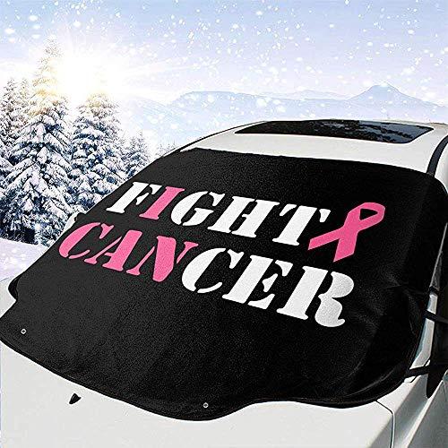 Tridge Auto Front Windschutzscheibe Schneedecke Kampf Brustkrebs Frost Guard Protector