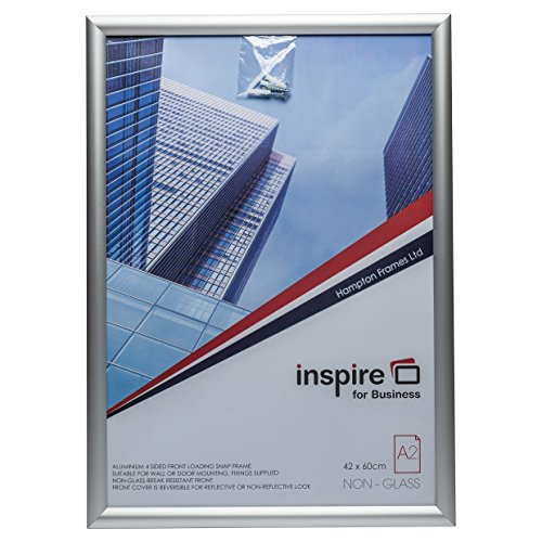 The Photo Album Company SNAPA2S A2 Inspire for Business Aluminium Snap Frame