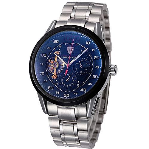 Reloj de Hombre de Marca Reloj automático tourbillon Relojes mecánicos Reloj de Hombre Reloj Deportivo automático Reloj de Pulsera Masculino Masculino Reloj Hombre