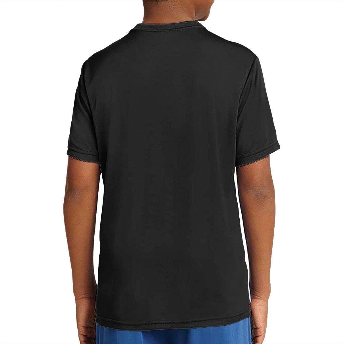 DAVIDLLOYD Borderlands 2 Funny Youth Short Sleeve T-Shirt for Teenager Boys Girls Black