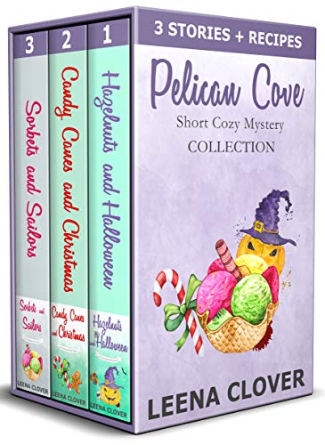 Pelican Cove Short Cozy Mystery Collection: Cozy Mysteries with Recipes