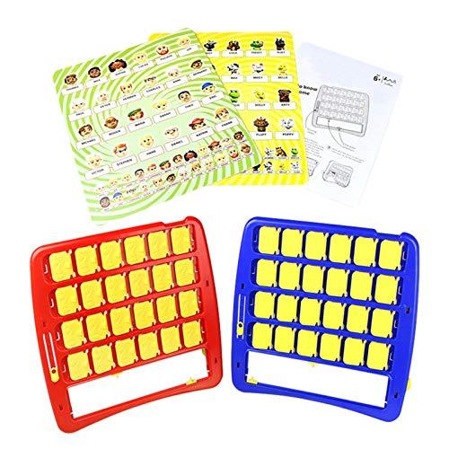 iBaste Rate wer ich Bin Lustiges Ratespiel Brettspiel, Ratespiel Eltern Kind Interaktives Ratespiel