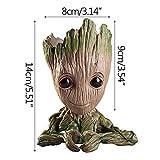 Figuren Falsche Baby Groot Puppe Figur Blumentopf Stifthalter Baum Mann Modell Spielzeug Marvel...