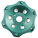 Disco de diamante profesional PKD de 125 mm x 22,23 mm, 6 segmentos, para uso...