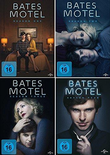 Bates Motel - Season One, Two, Three & Four im Set - Deutsche Originalware [12 DVDs]