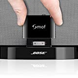 Smof Expert 30 Pin Bluetooth Adapter, Bluetooth Adapter for BOSE Sounddock Compatible