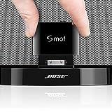 Bluetooth Empfänger -30 Pin Bluetooth Audio-Empfänger, aptX Low Latency Bluetooth-Audioadapter Für iPhone/iPod/Bose/Sony/Musik-Dockingstationen/Stereo Ground Loop Noise Isolator
