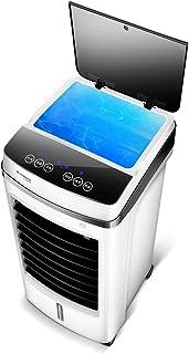 Bärbar avdunstning luftkylare på ovansidan, liten liten luftkonditionering med fjärrkontroll, 3-växlad vattenkylare, fläk...