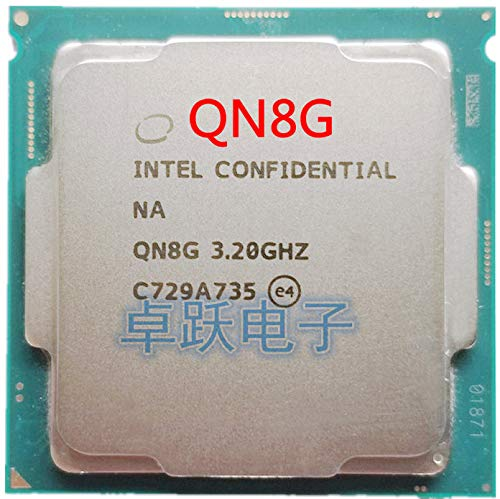 QN8G i7 8700K ES CPU 6 Core 12 Threads 3.2Ghz,Support Z370 and Other Eight-Generation motherboards, do Not Pick The Board