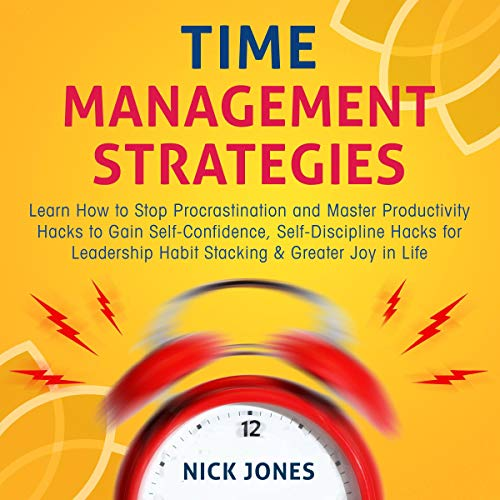 Time Management Strategies audiobook cover art