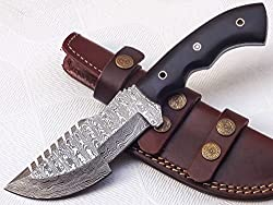 7 Best Damascus Hunting Knives 2019 9