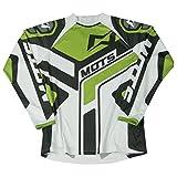 Mots MT2104SV Trial Step 2 Camiseta, Verde, Talla S