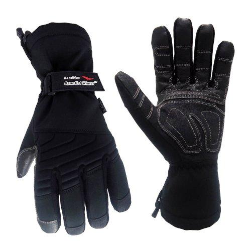 Cestus GAUNTLET W-5041 2XL Temp Series HM Handschuhe für den Winter, isoliert, Arbeitshandschuhe, Größe XXL, Schwarz