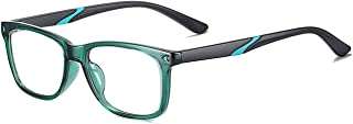 MAXJULI Kids Blue Light Blocking Glasses - Anti Eyestrain - Computer Video Gaming Eyeglasses for Boys & Girls - TR90 Unbre...